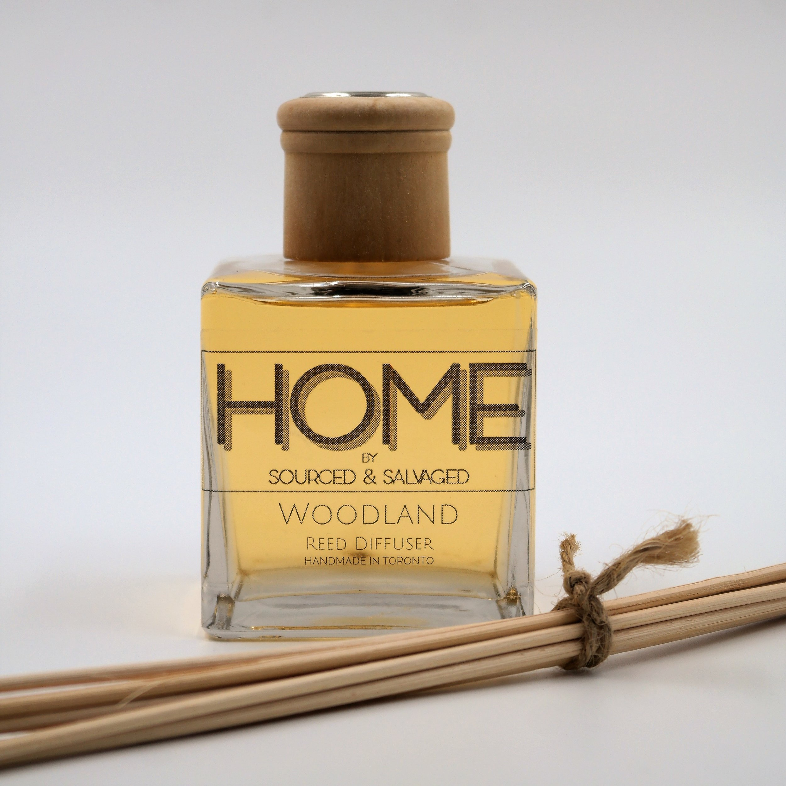 Reed Diffuser - Woodland - $25
