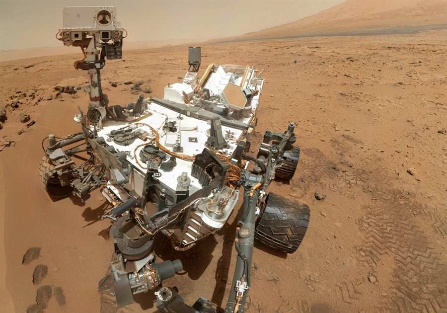 The Curiosity rover on Mars has been exploring the martian surface for over a year.