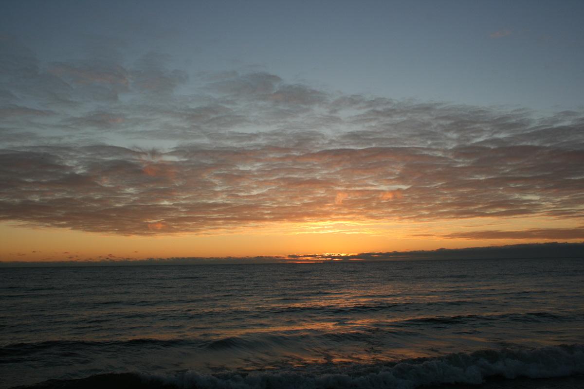 Sunrise Sunday November 3, 2013 - morning of the partial solar eclipse. Photo by Liz Malicki