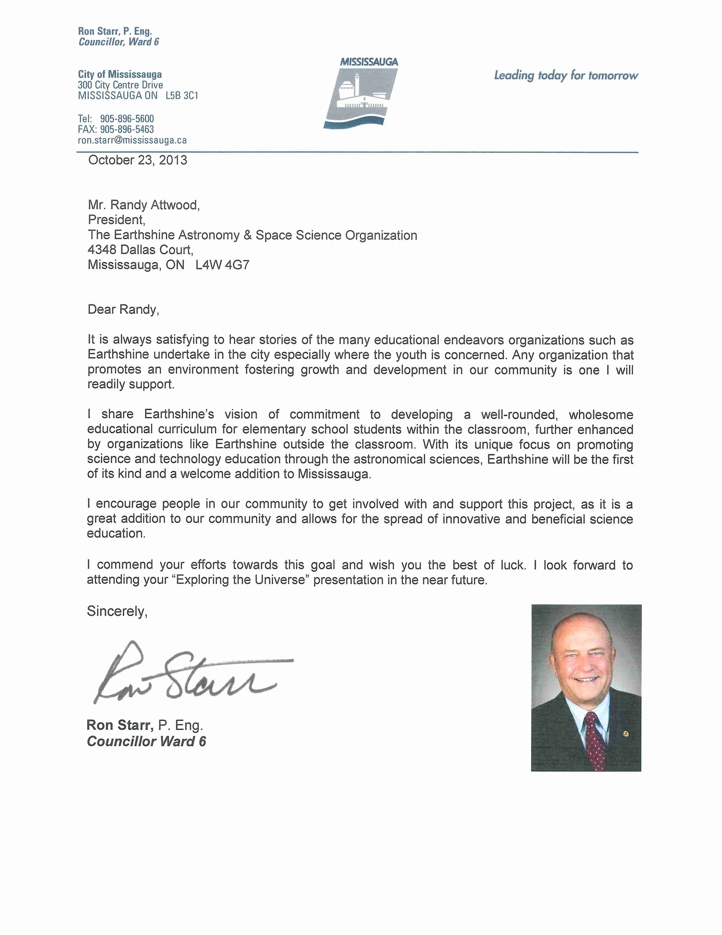 Earthshine Support Letter (2).JPG
