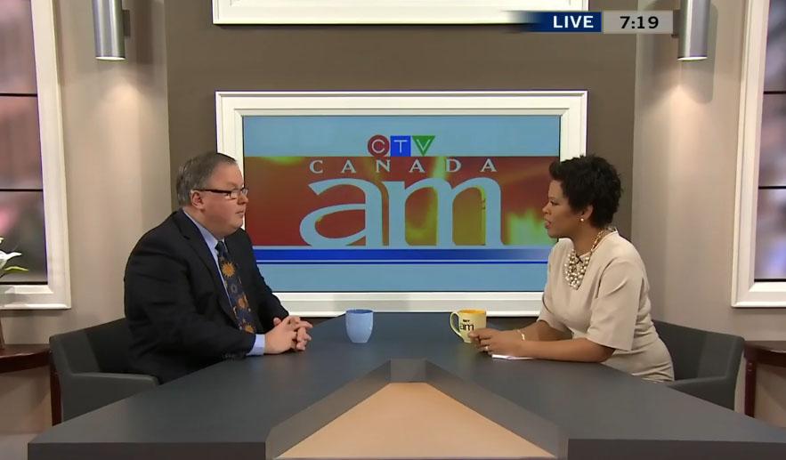 Earthshine President Randy Attwood talks with Canada AM host Marci Ien.