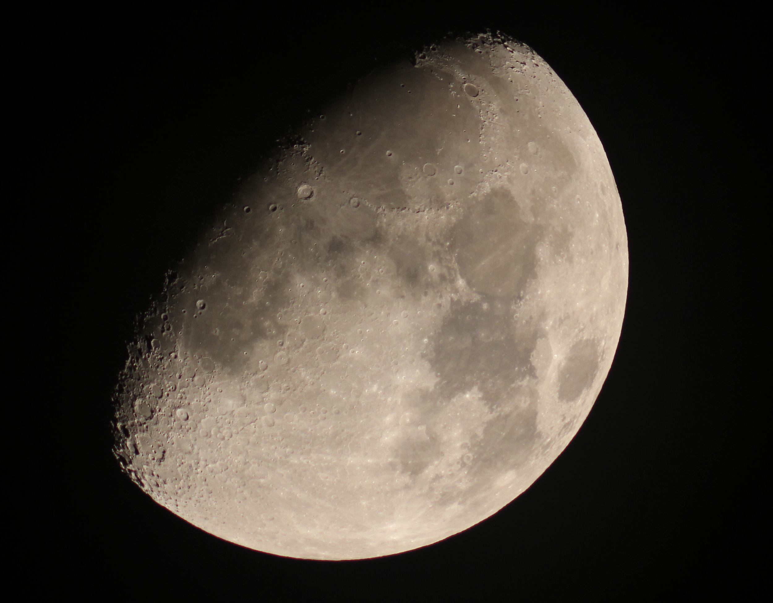 The Moon will look like this through telescopes at Riverwood July 8.