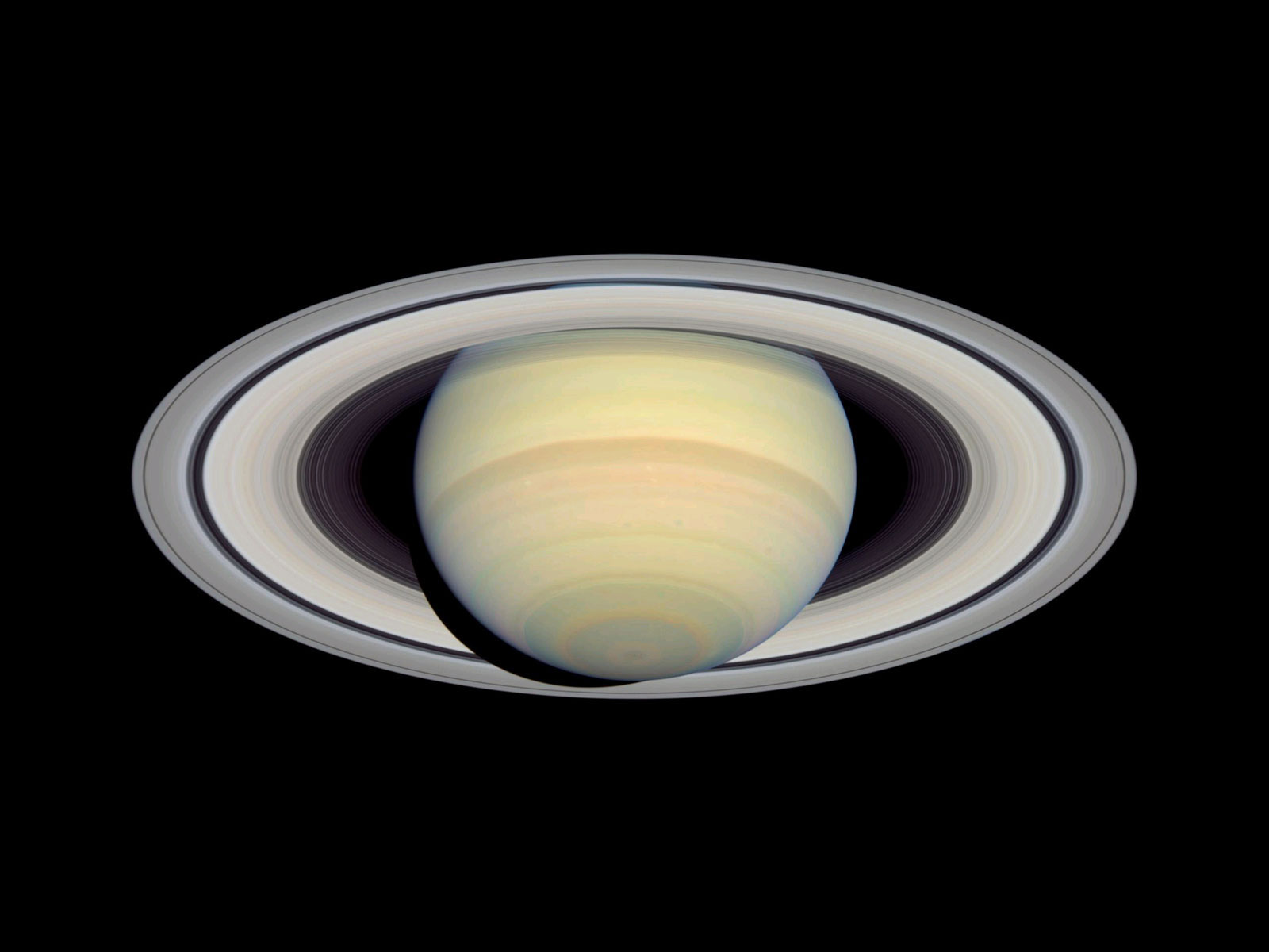 SATURN AND ITS BEAUTIFUL RING SYSTEM