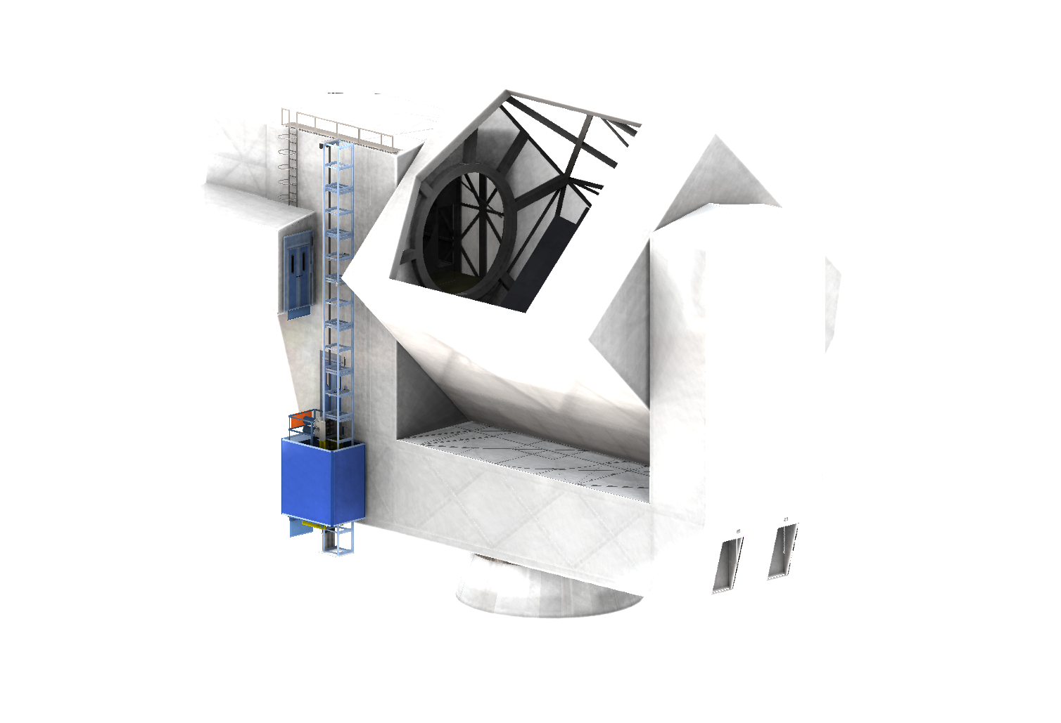 The proposed Cornell Caltech Atacama Telescope.