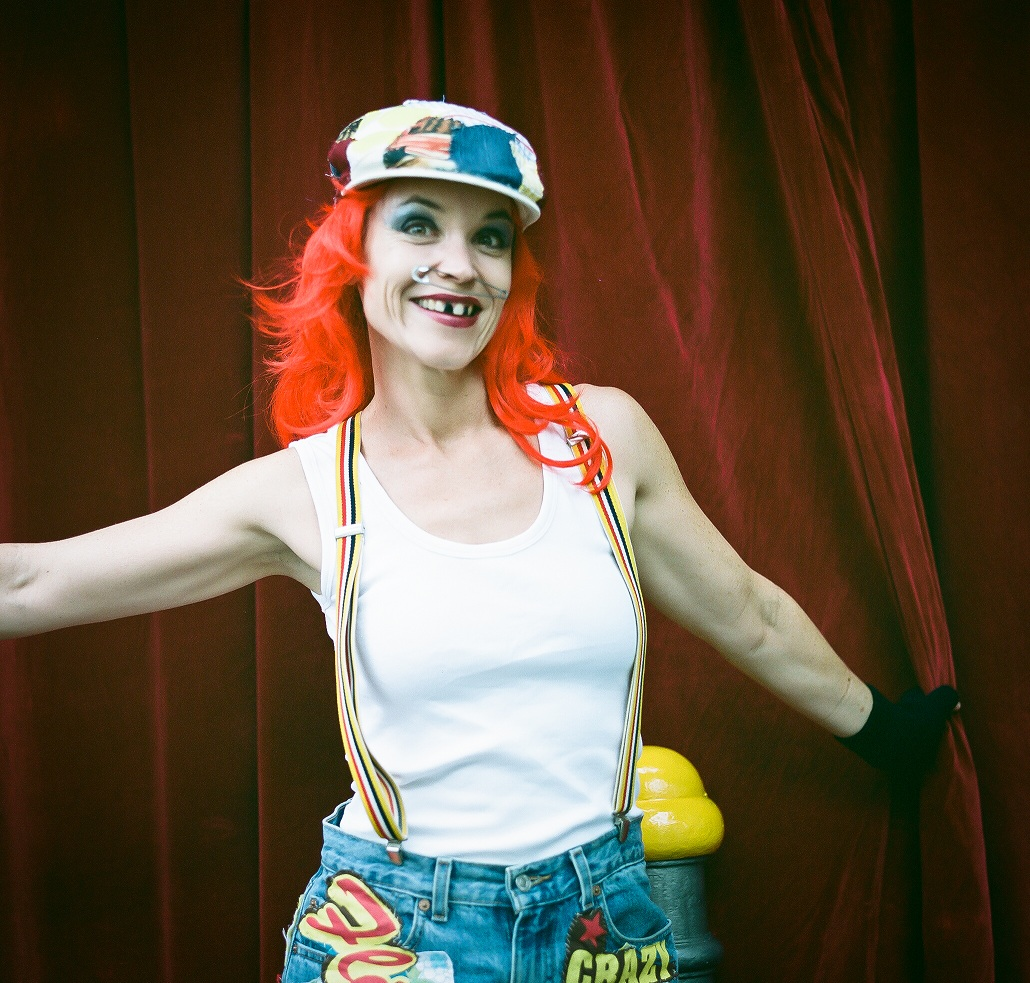 """Circus Lady"" Kodak Portra 400"