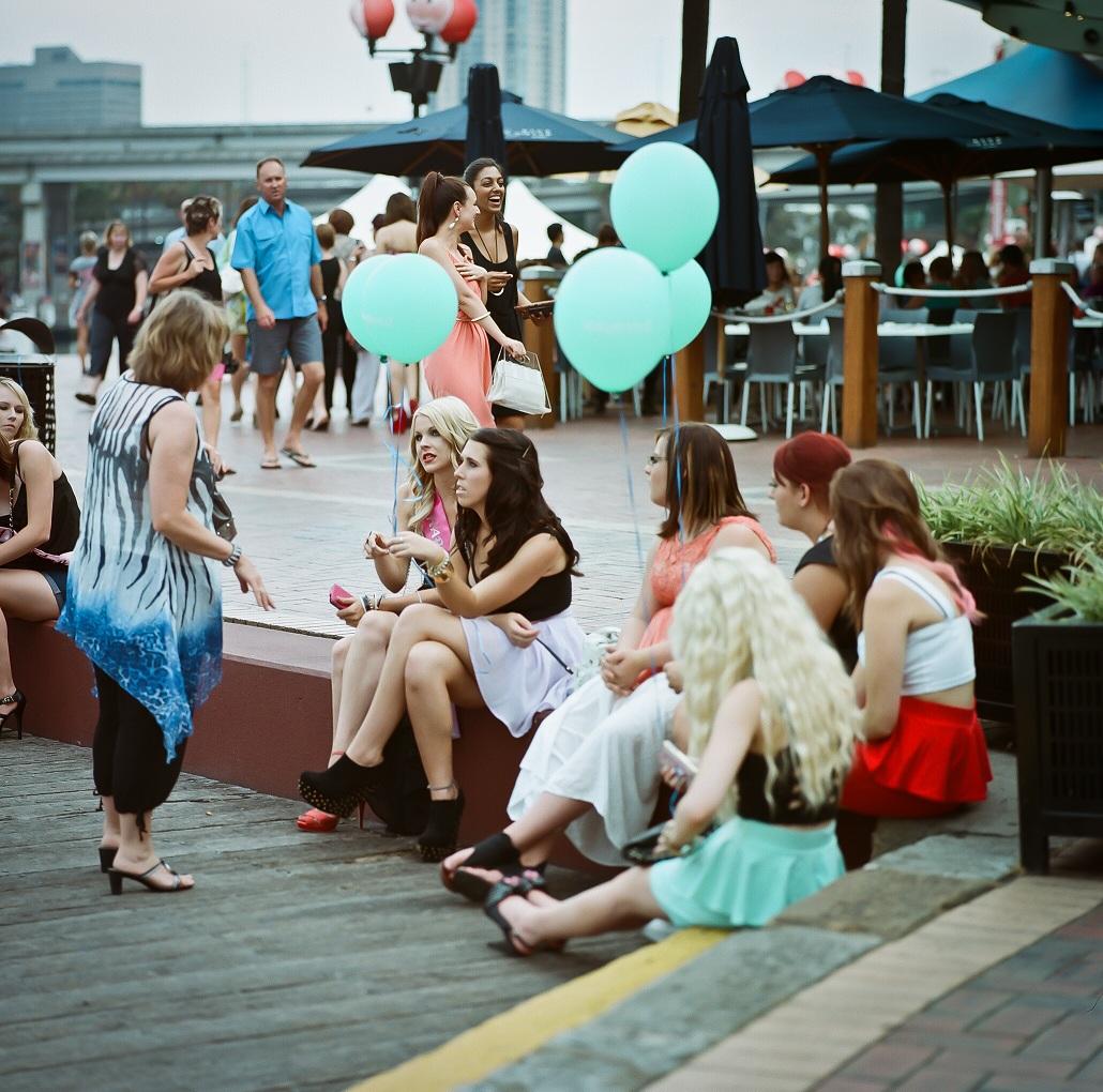 """Gossip Girls"" - Kodak Portra 400"
