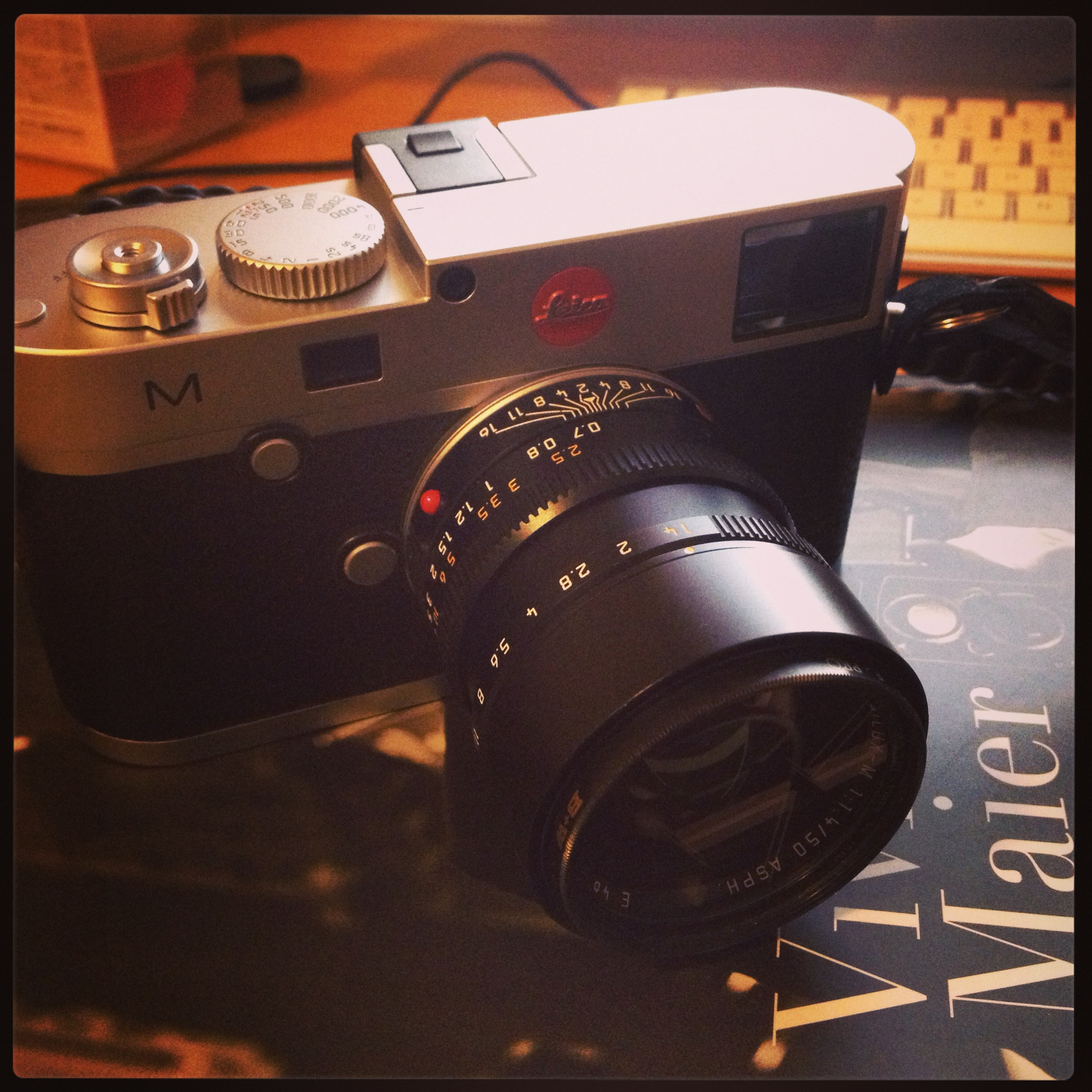 Leica M 240 & 50 Summilux ASPH (Black)