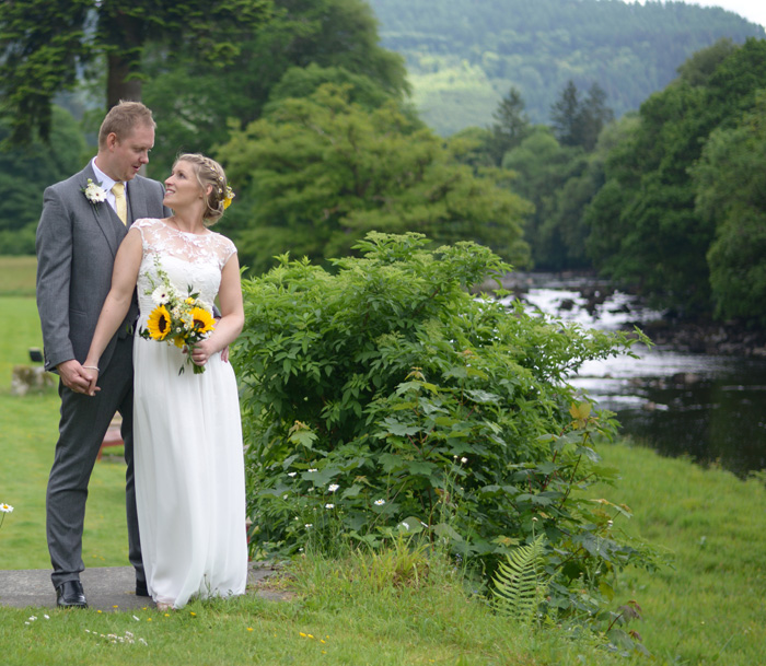 A riverside elopement -