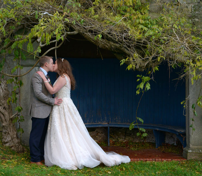 A country house wedding -