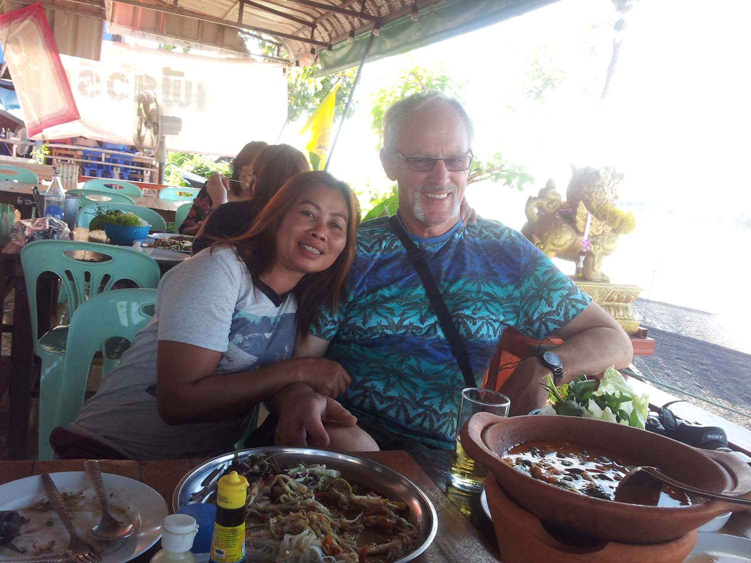 Homestay guest Paul enjoying a painting holiday in Thailand  000.jpg