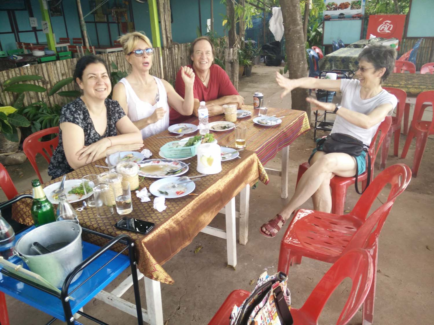 Frances came from Hong Kong for a holiday with us at Thailand Painting Holidays and we all had a great time together.   Click to read her review .