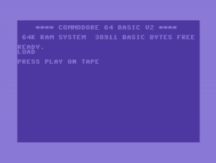 Shift+Run Stop opened the world to C64 games