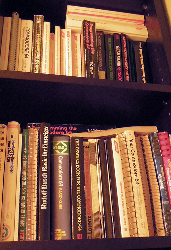 Some of my C64 books