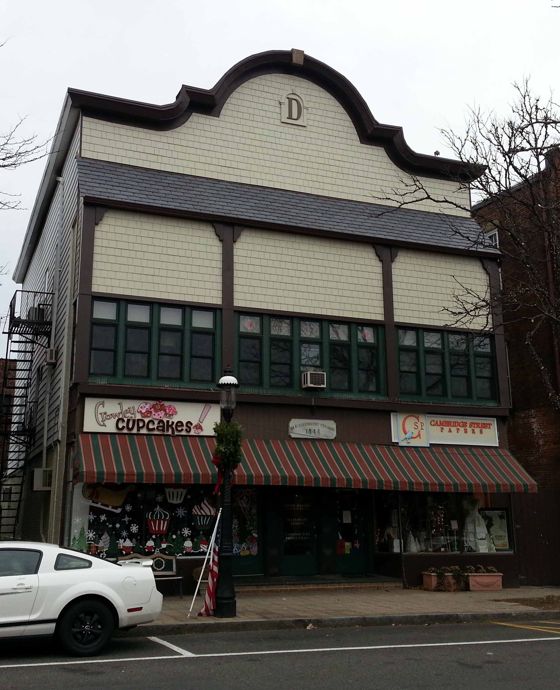 Facade design integration on a historically significant building in Madison.