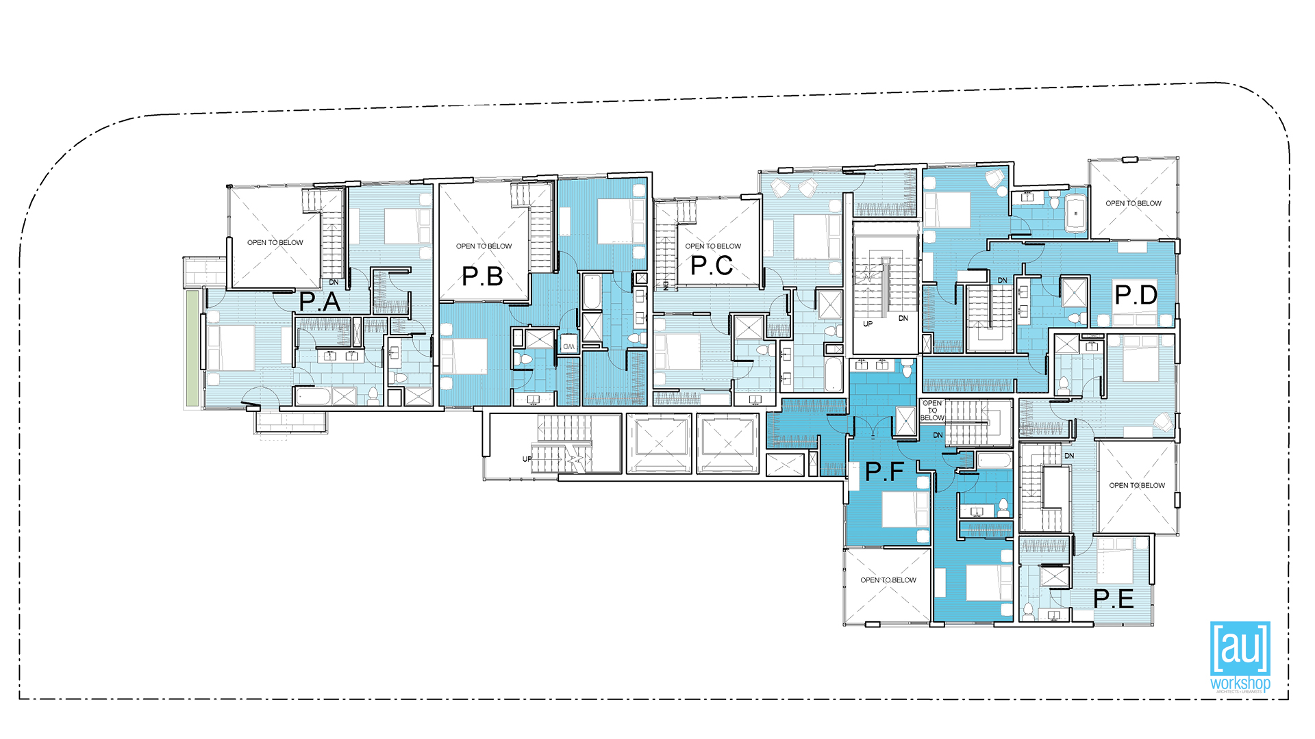 Penthouse Mezzanine Plan