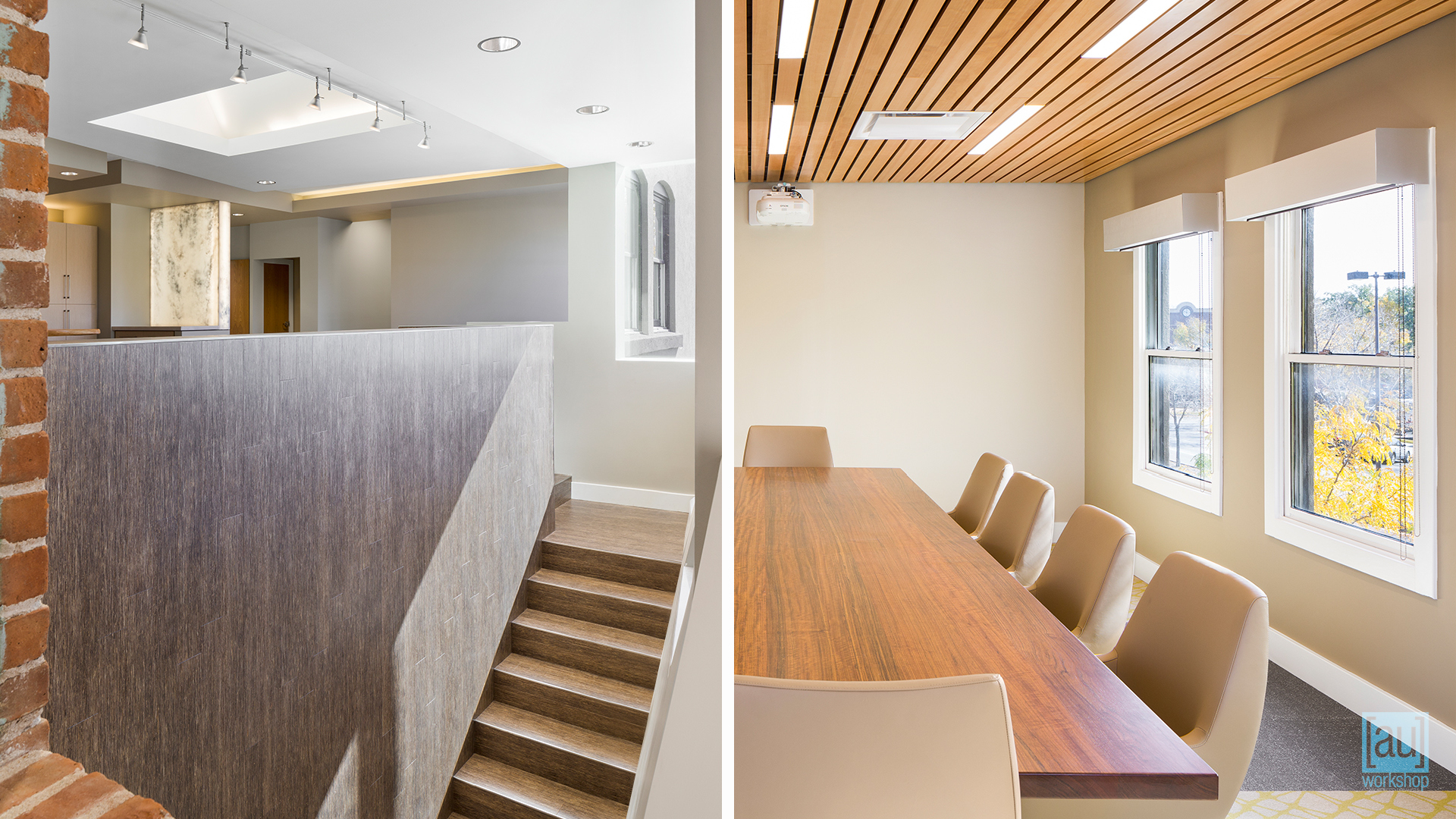 Interior Stair and Conference Room
