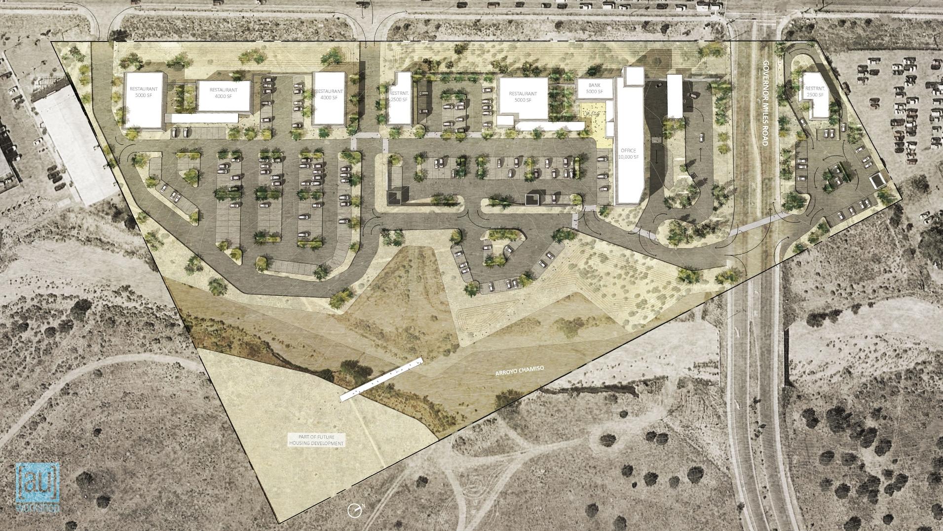 Early Conceptual Site Plan