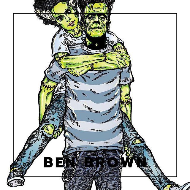 XOXO magazines featured artists showcase. Ben Brown @mentalben work is synonymous with Australia's surf - rock culture. Instantly recognizable. . . . .  #XOXOMagazine #FeaturedArtist #AuCreativeNetwork #benbrown #painter #manlyartist #australiancreatives #mentalben #manlybeaches #pjharvey #sydneyillustrator #creativenetwork #xoxo #australianmagazine #network #illustrator #sydneycreativenetwork