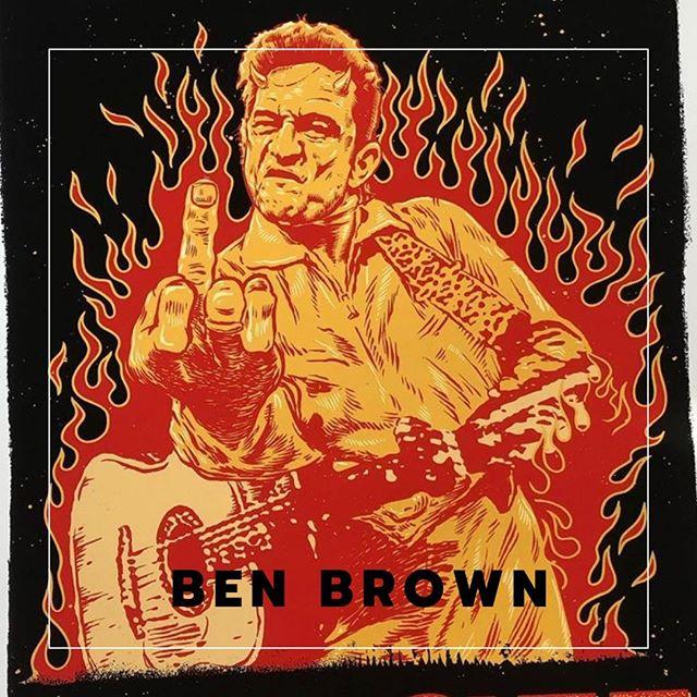 XOXO magazines featured artists showcase. Sydney illustrator, Ben Brown @mentalben punk rock at heart - punk rock in style. . . . .  #XOXOMagazine #FeaturedArtist #AuCreativeNetwork #benbrown #painter #manlyartist #australiancreatives #mentalben #manlybeaches #johnnycash #sydneyillustrator #creativenetwork #xoxo #australianmagazine #network #illustrator #sydneycreativenetwork