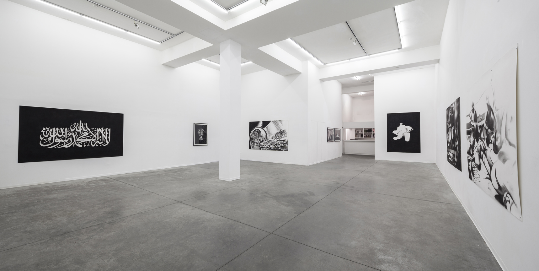 Installation view at Hezi-Cohen Gallery