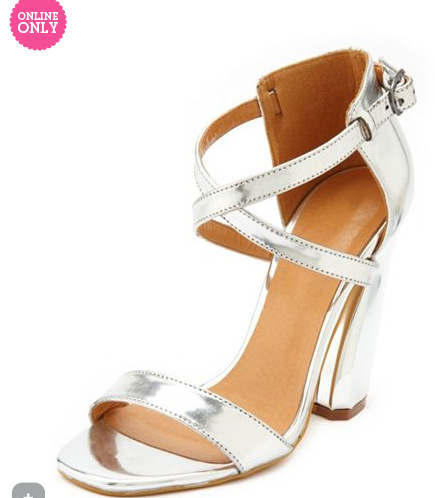Patent X-Front Curved Heel , $40