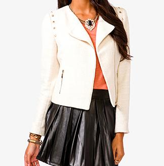 Studded Tweed Jacket , $29.80
