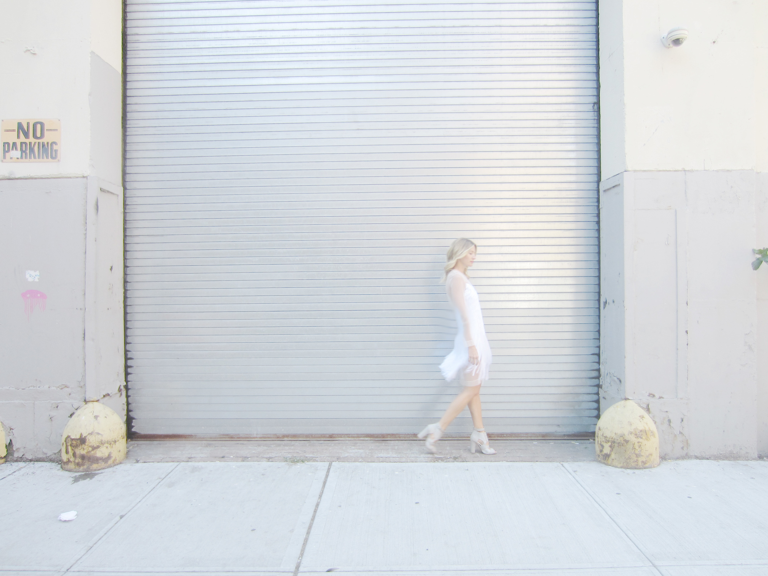 Dress, Alexander Wang (sample); Shoes,  Charlotte Russe ; Rings,  Margiela