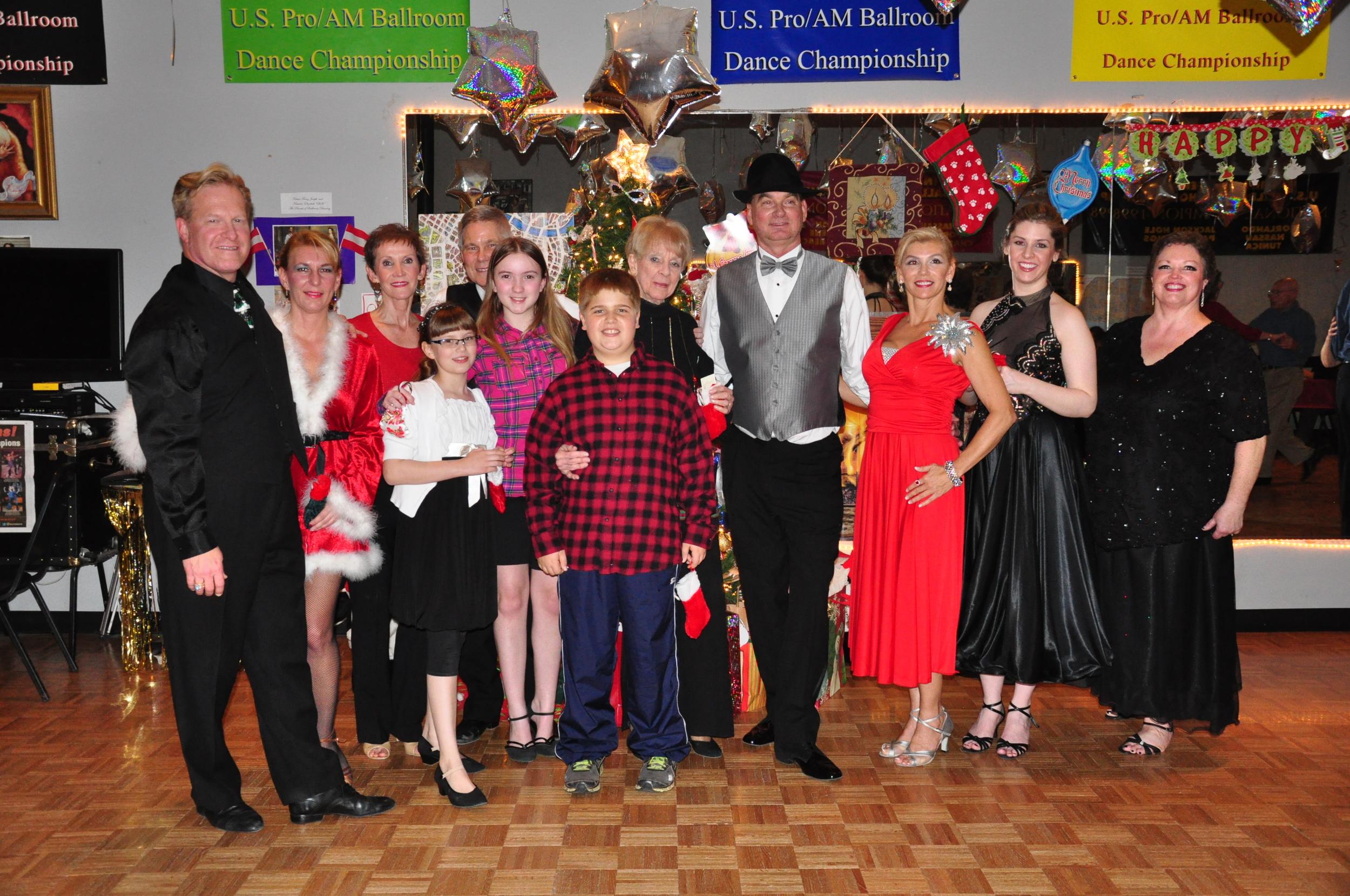 Christmas Showcase family 2012