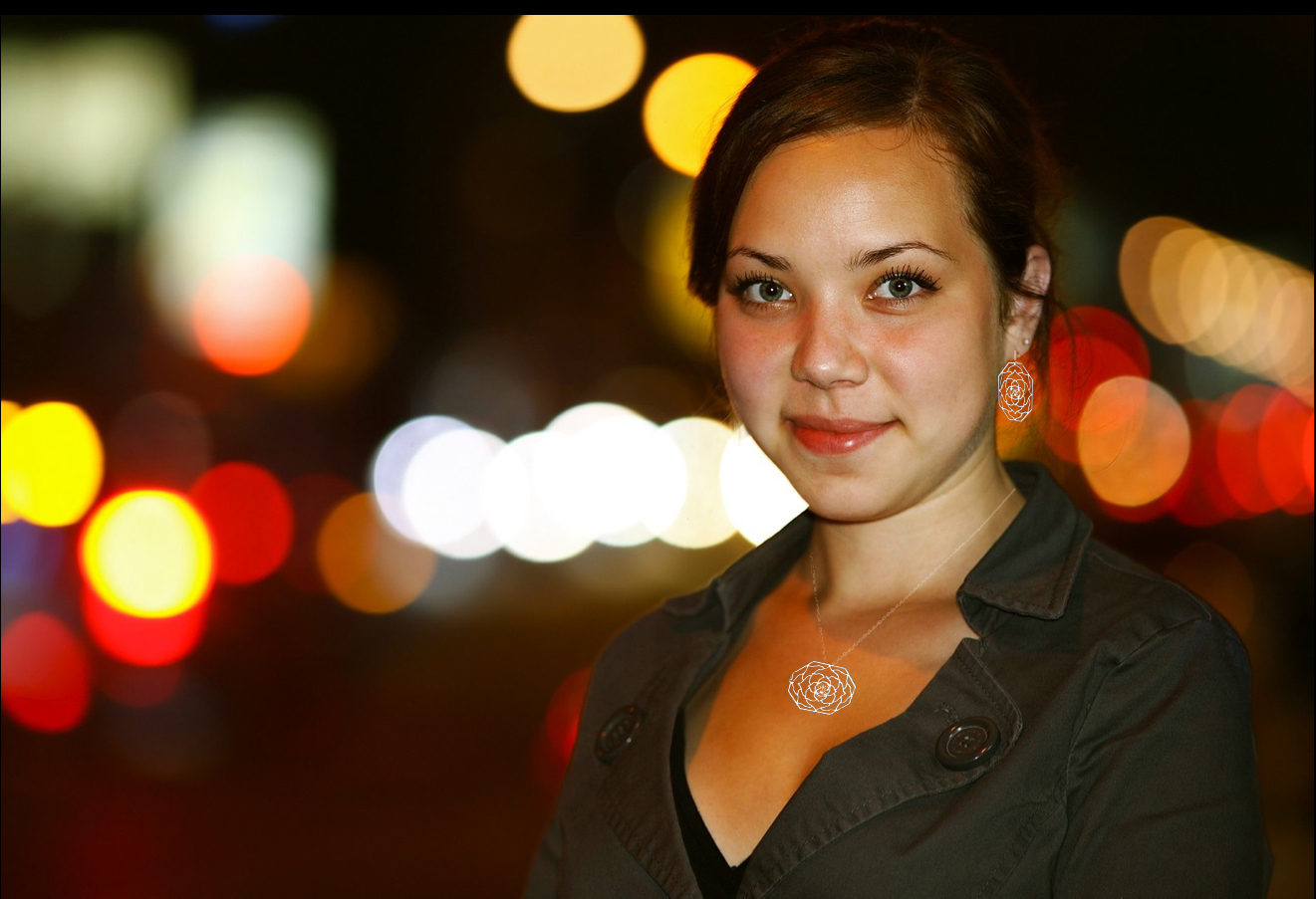 Young woman in city lights w Lotus.jpg