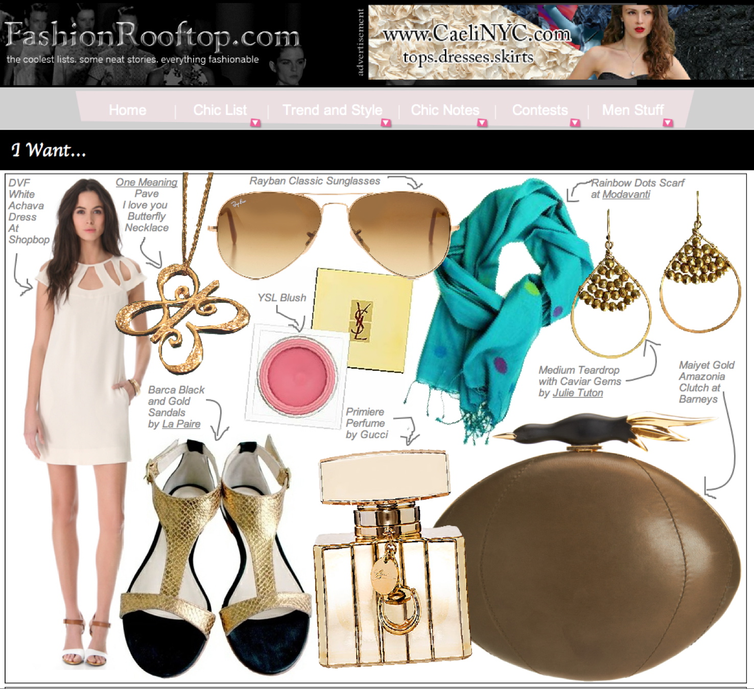 """One Meaning on Fashion Roofttop's """"Want"""" List"""