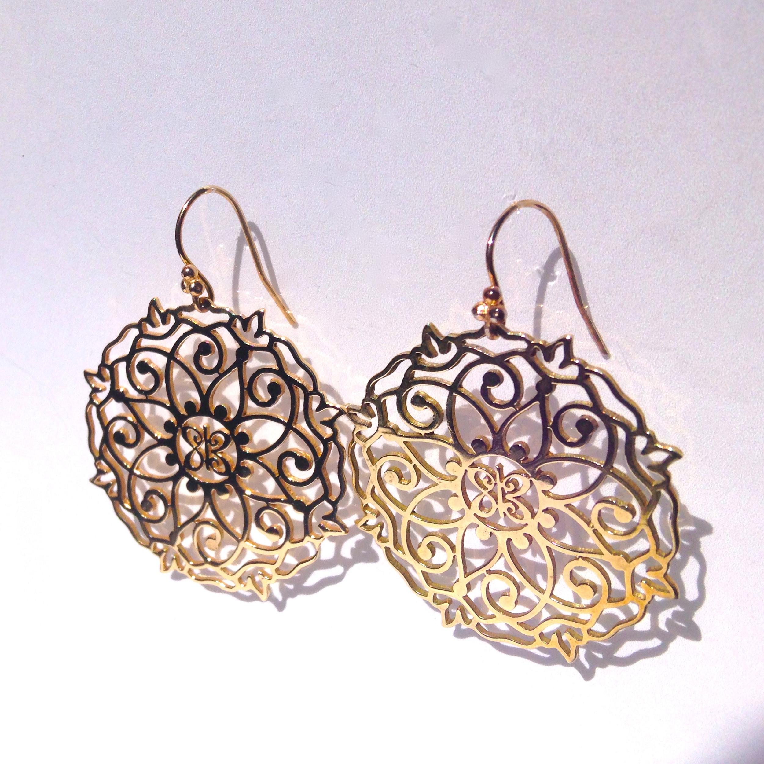 Mandala Earrings - Gold 1.JPG