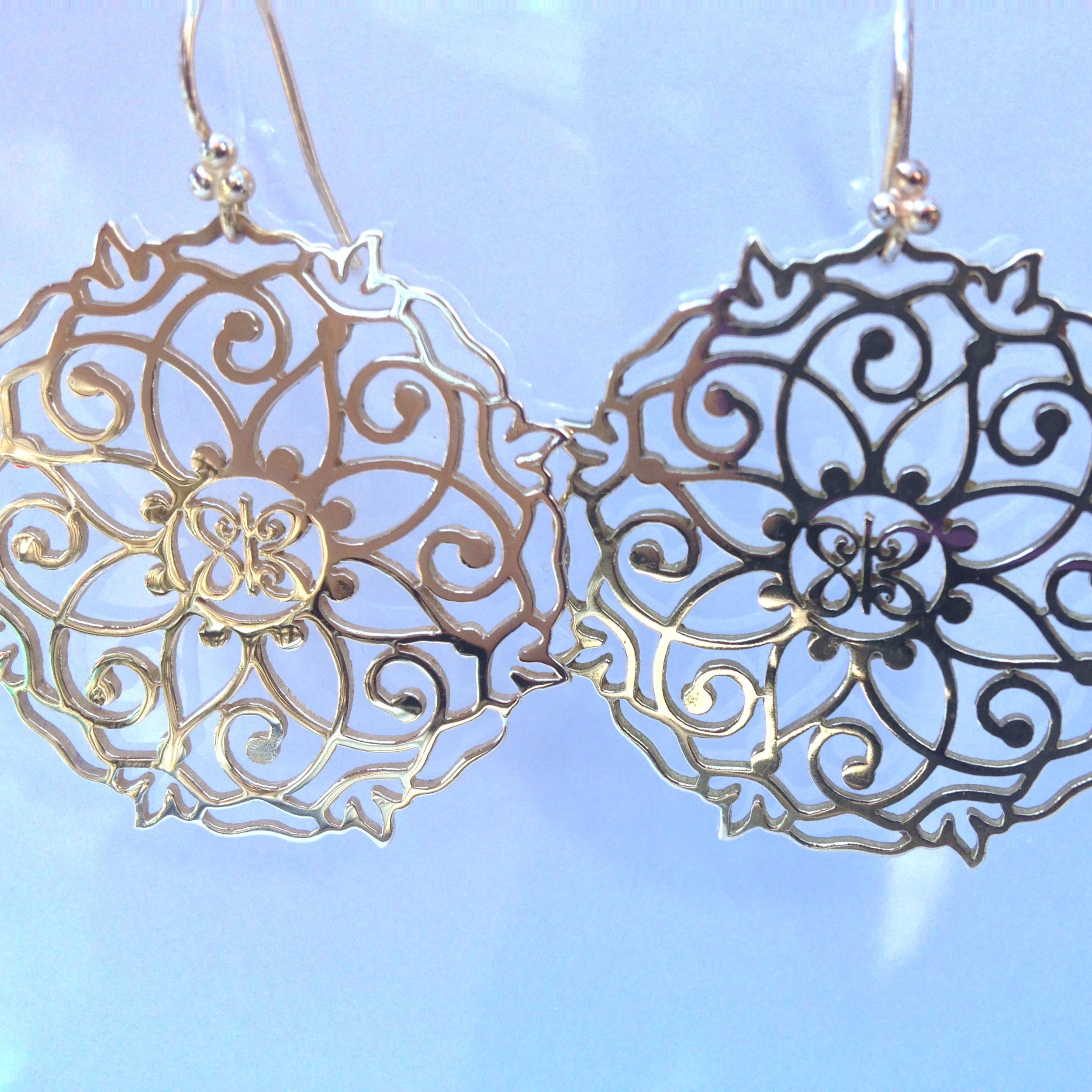 Mandala Earrings - Silver.JPG