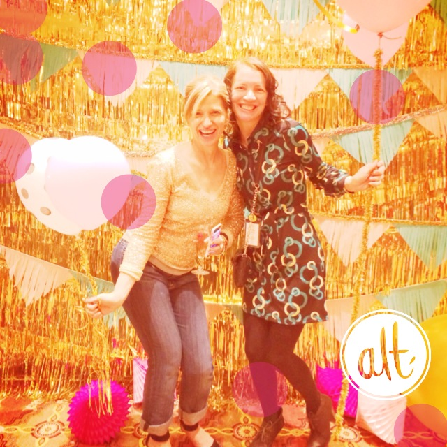 Monica Lee and Jenean Morrison-- Alt Summit 2014