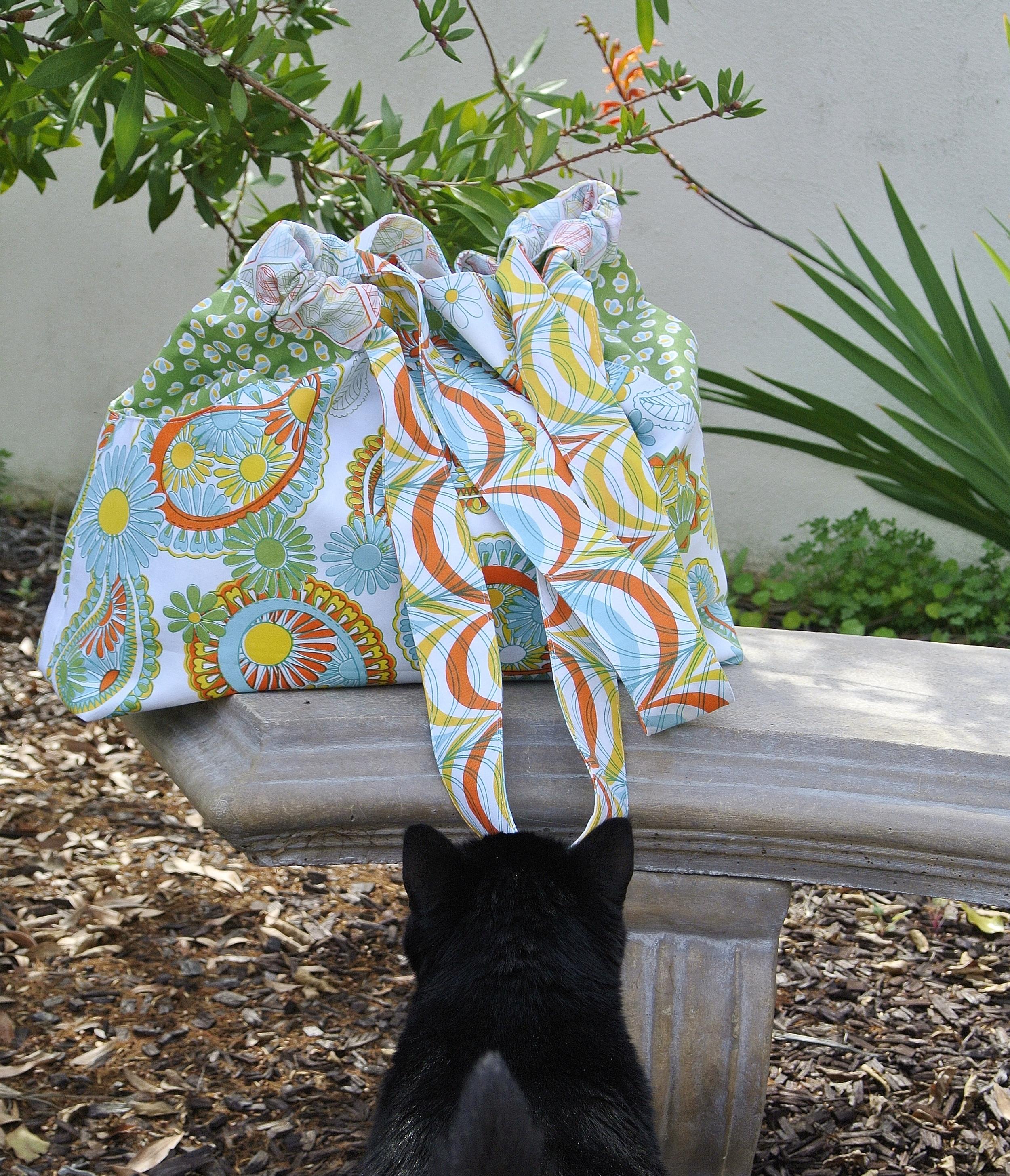 Anna Maria Multi-Tasker Tote in Lovelorn Fabric by Jenean Morrison