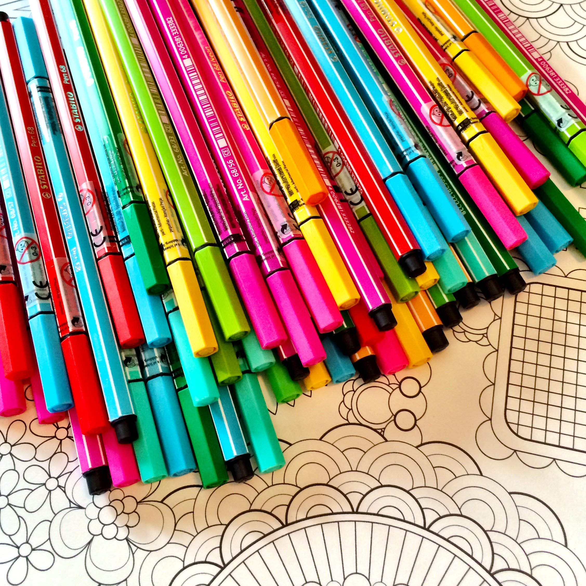 Coloring Postcards by Jenean Morrison