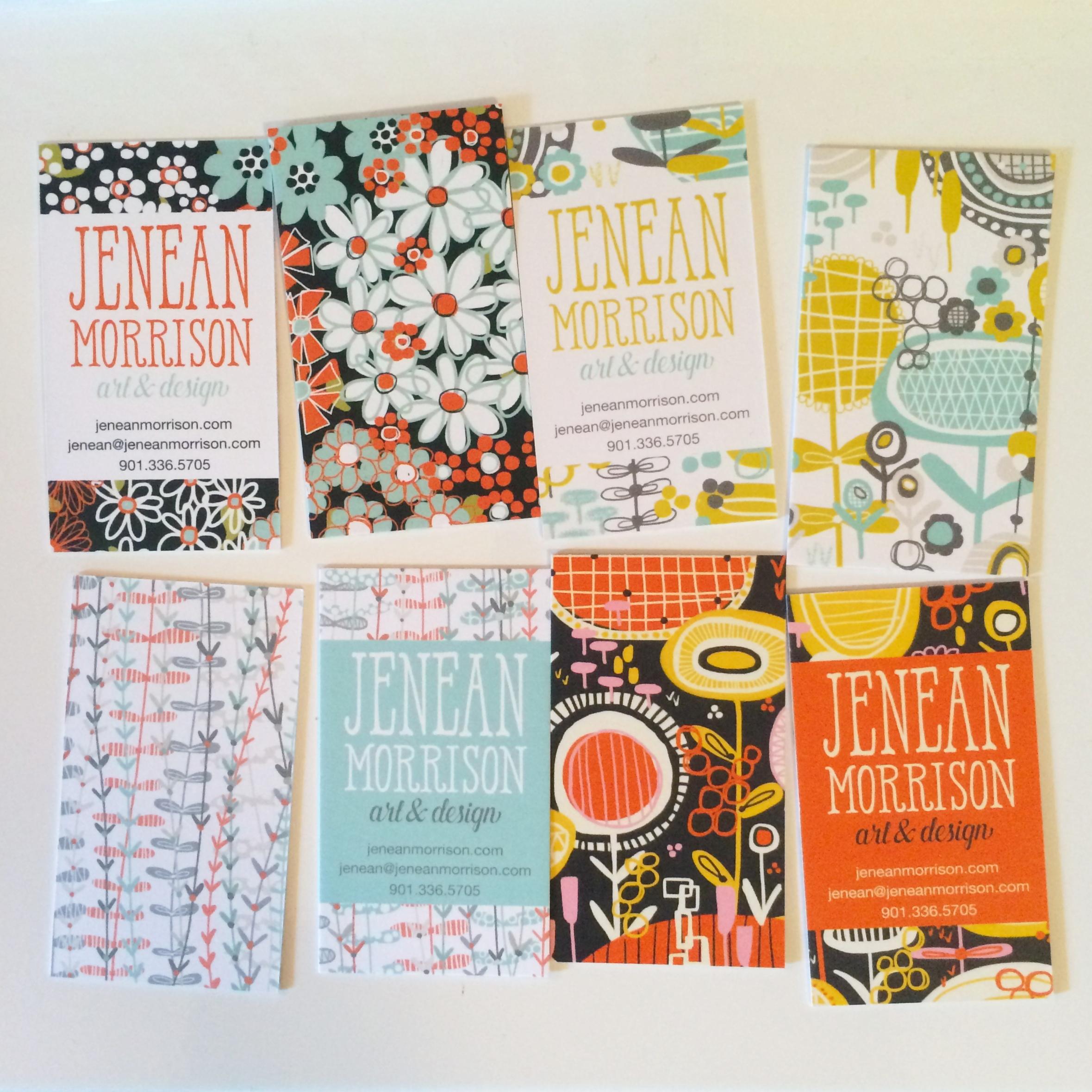 Jenean Morrison Business Cards