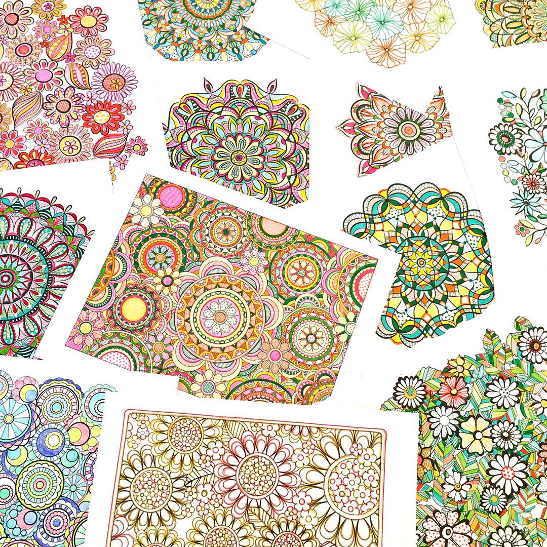 Jenean Morrison Coloring Books, Available on Amazon
