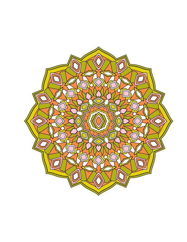 Jenean Morrison's Mandala Design Coloring Book, Volume 1