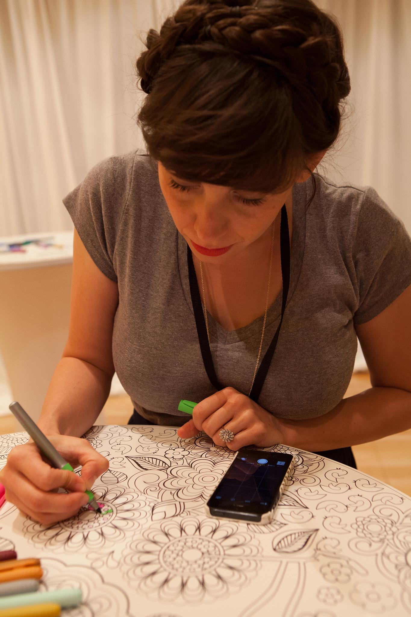 Alt Summer 2015 Squarespace Lounge featuring Artwork by Jenean Morrison.  photo credit: Alt Summit