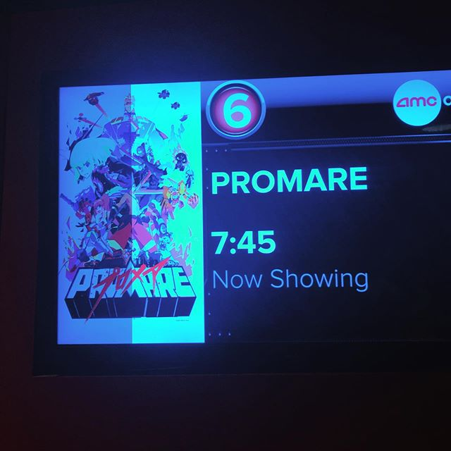 Promare was incredible! 👊🔥🤩 Thank you Studio Trigger! #promare