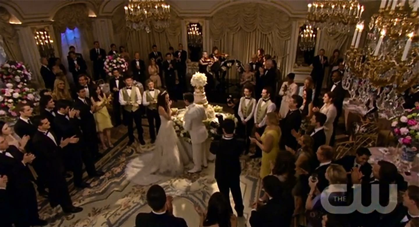 """Performing on the 100th episode of """"Gossip Girl"""" with the Vitamin String Quartet,"""