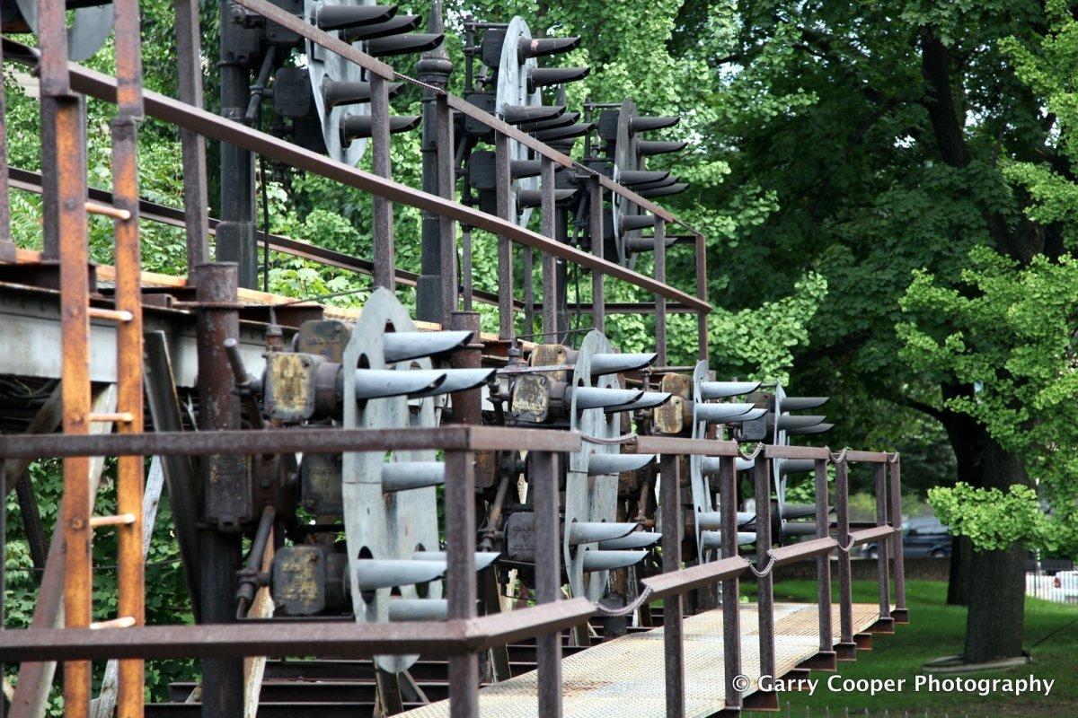 Rail signals, West Park.