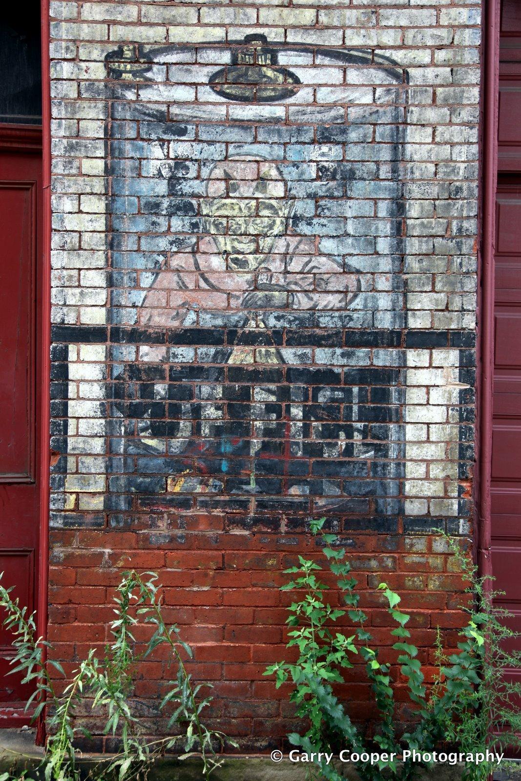 Manchester warehouse wall