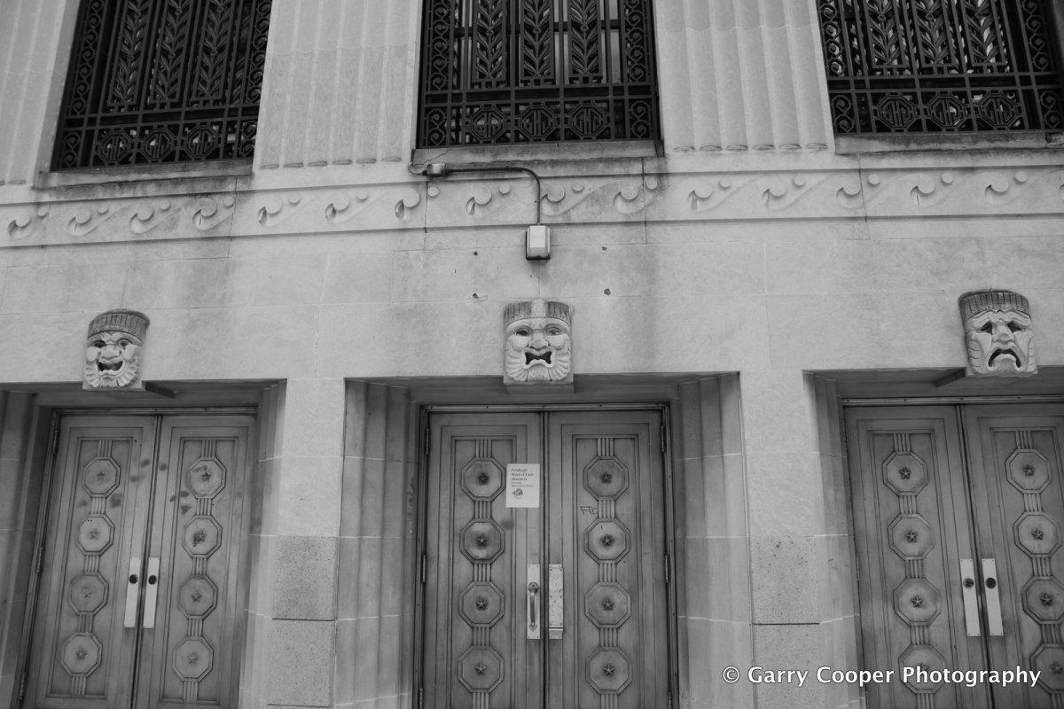 Allegheny High School side entrance