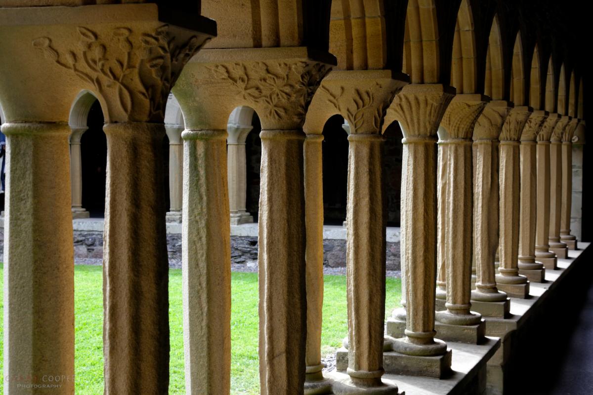 Cloister Columns, Iona Abbey