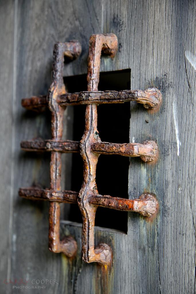 Door detail, Iona Abbey