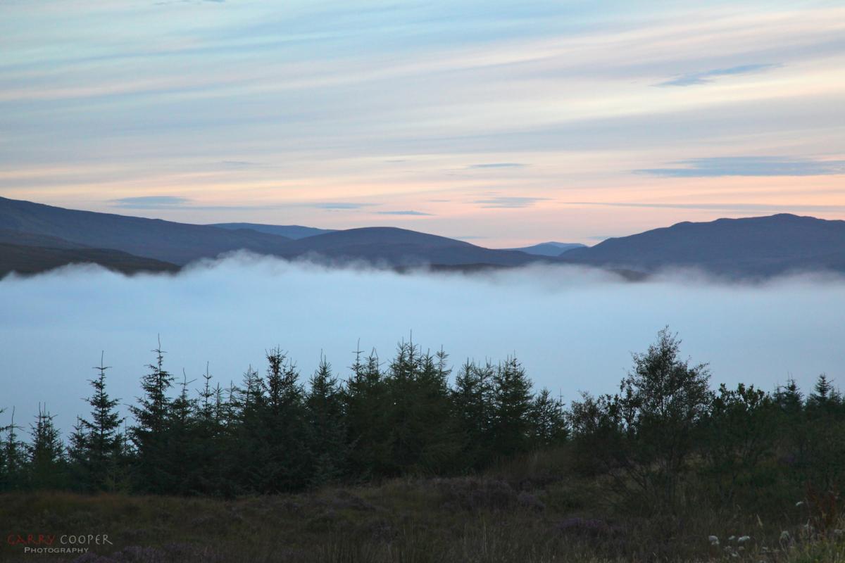 Morning mist, Invergarry
