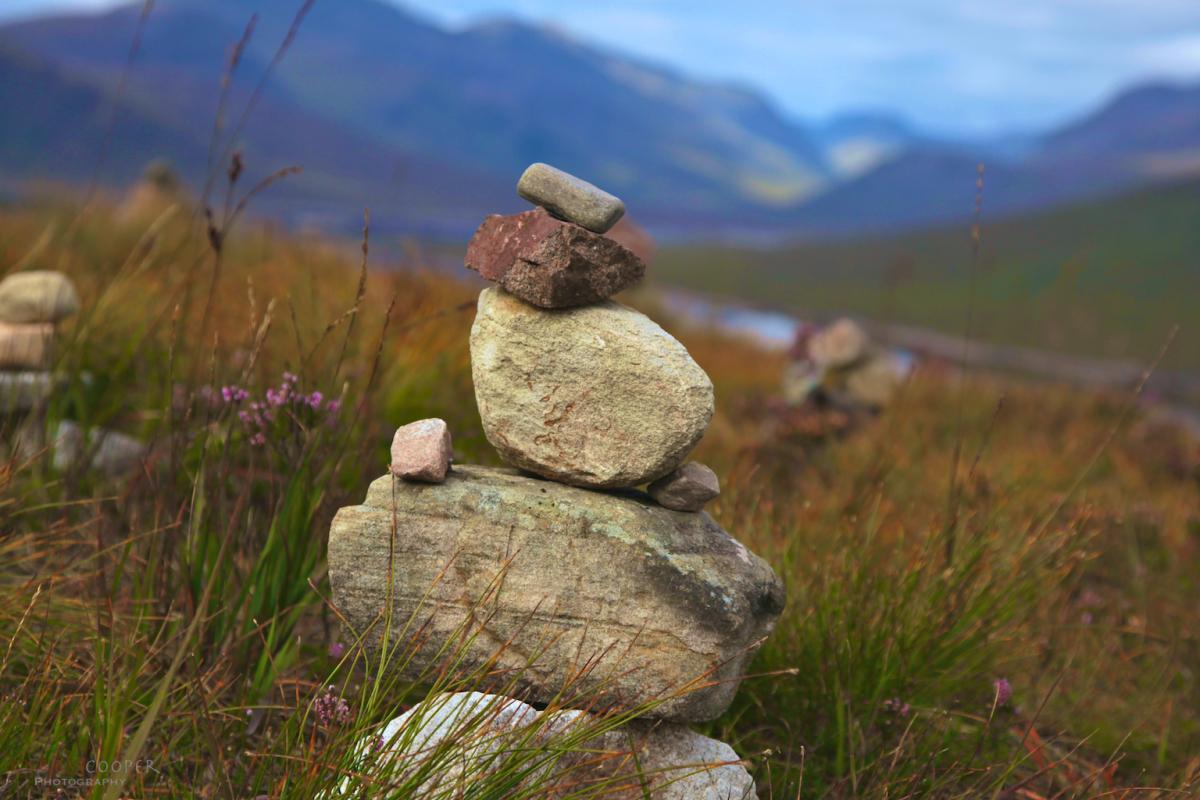 Stacked stones, Invergarry