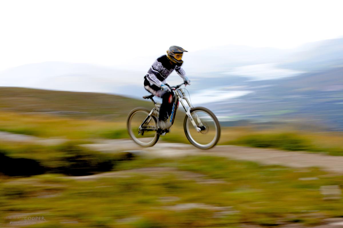 Mountain Biking at the summit, Ben Nevis