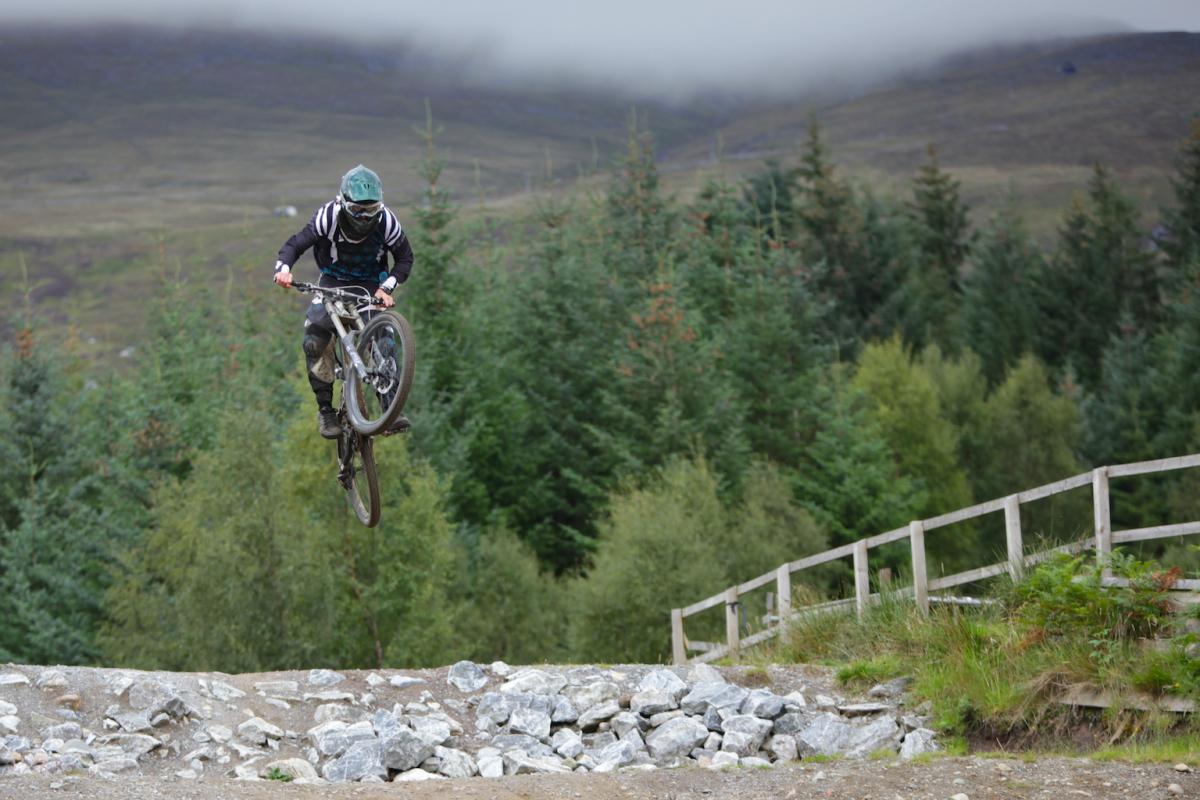 Downhill Mountain Biking, Ben Nevis